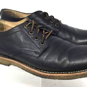 Frye Men's Oxford Size US 9 D Casual Lace Up Black
